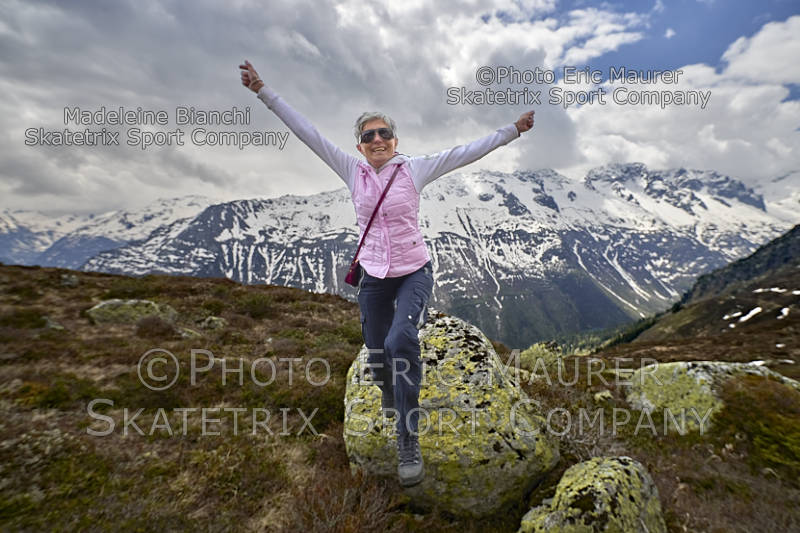 MADELEINE BIANCHI - a happy Swiss Girl in the Swiss Alps!