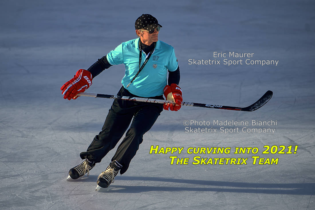 MADELEINE BIANCHI and ERIC MAURER of SKATETRIX SPORT COMPANY wish you HAPPY NEW YEAR!