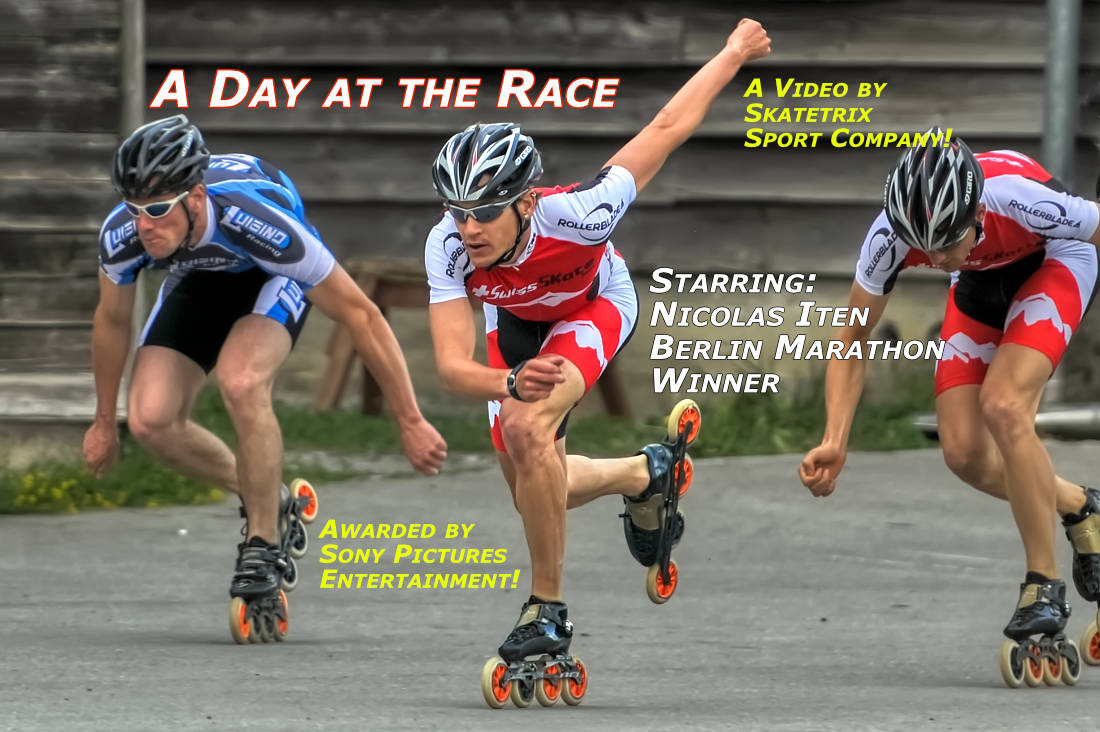 A DAY AT THE RACE - sport video clip